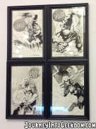 ...with even more great artwork on the wall... Avengers ASSEMBLE!